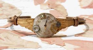 steam punk cuff bracelet