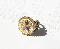 Steam Punk star ring by Archaic76