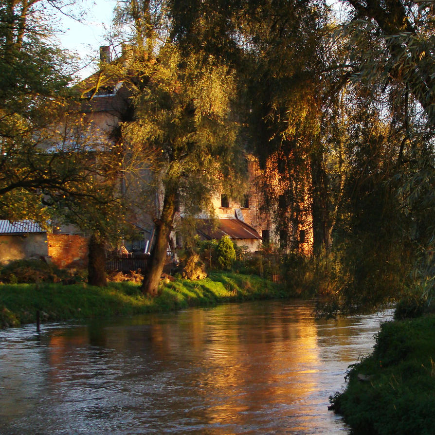 House by the river by freshberries