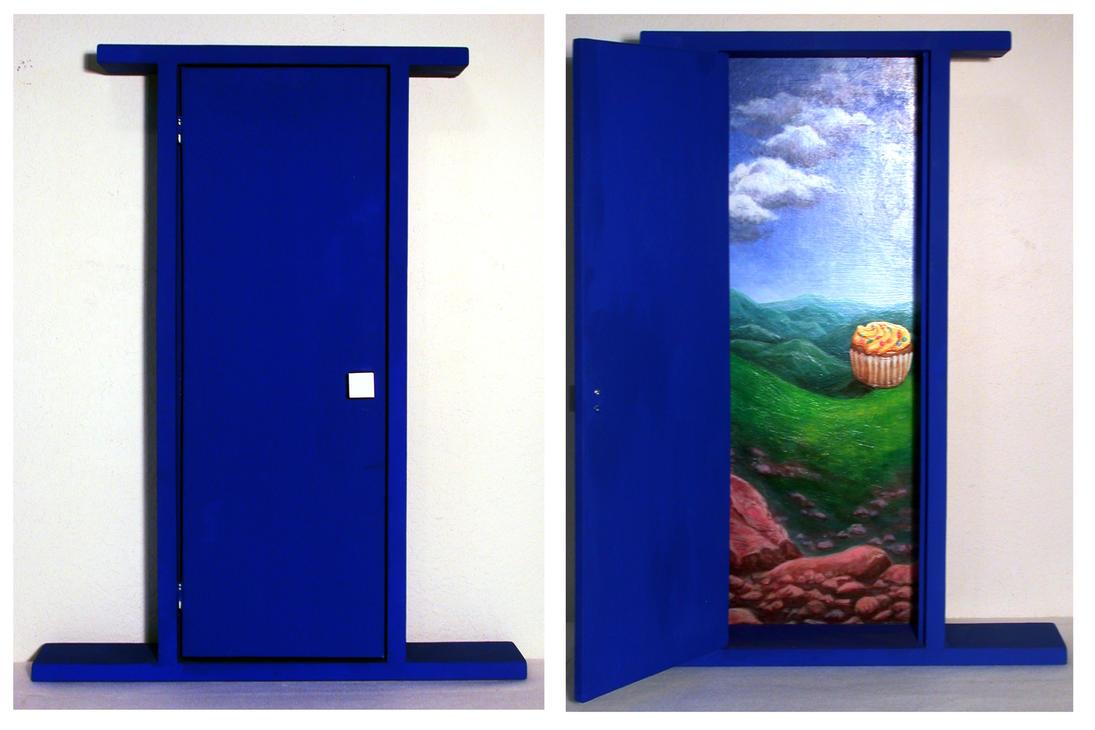 Blue Door by LunarMaddness ... & Blue Door by LunarMaddness on DeviantArt