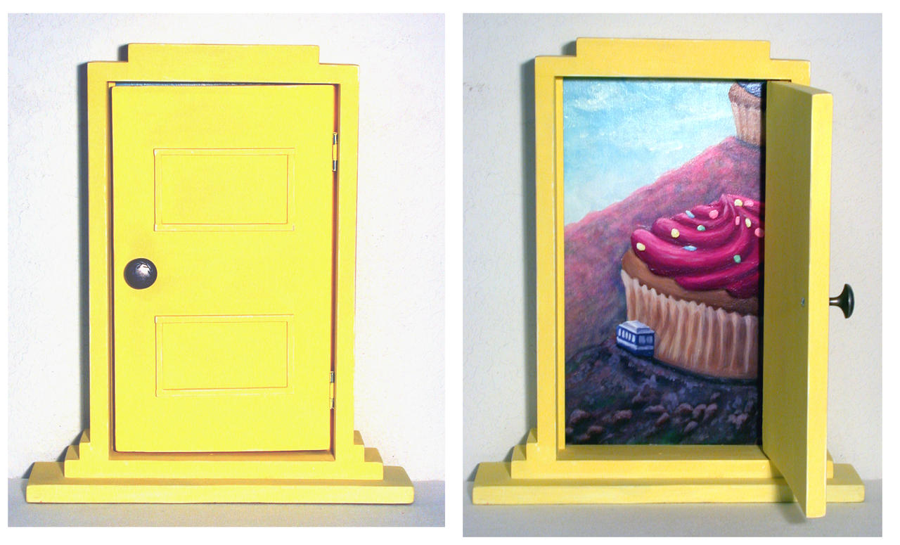 Yellow Door by LunarMaddness