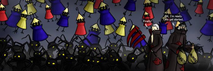 Battle Preparations by LunarMaddness
