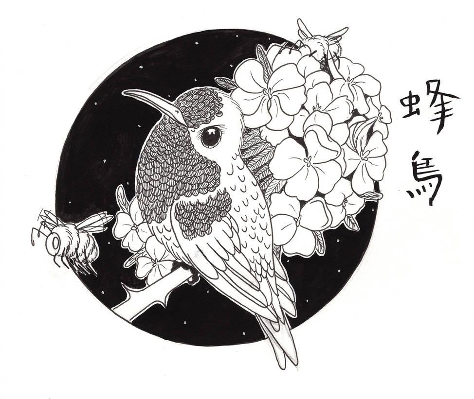Hummingbird and Bee's