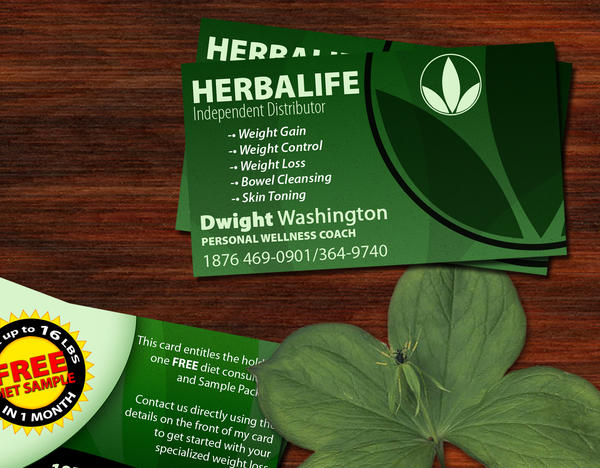 Herbalife Business Card Template.Business Cards From 40 00. Blank ...
