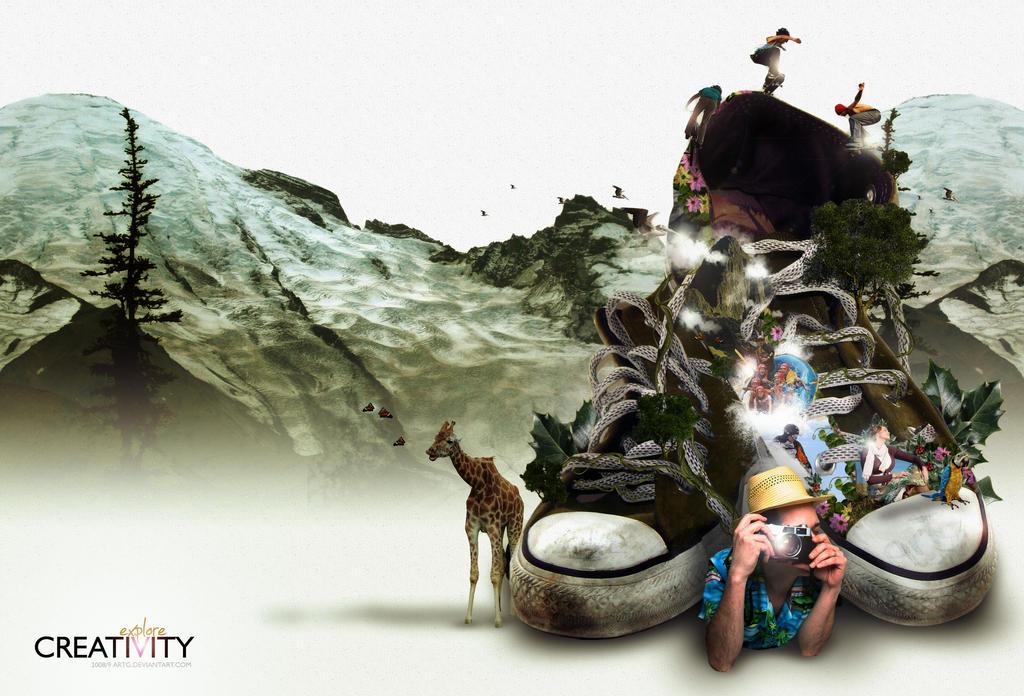 explore creativity day by arTG