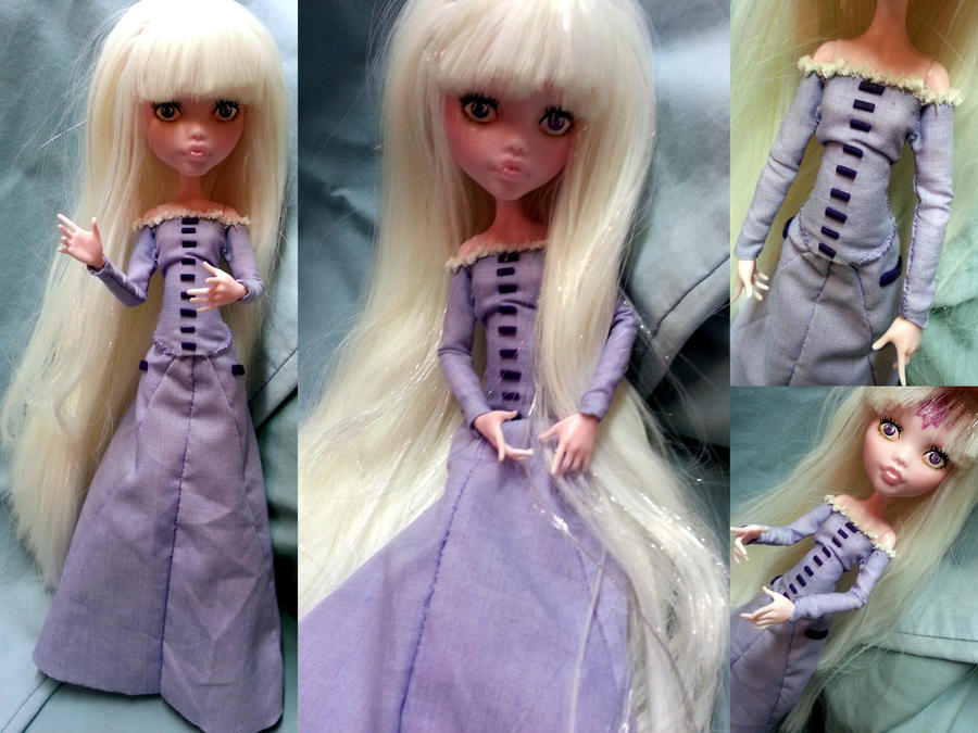 Monster High Custom, Lady Amalthea (TLU) by simplysteffie