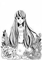 The Girl in a Garden