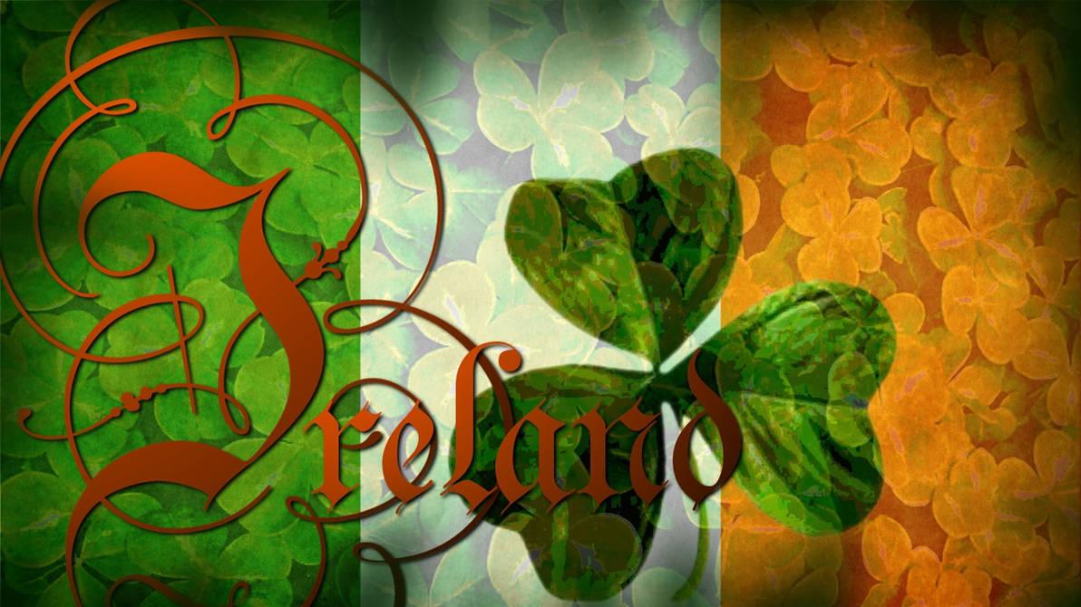Flag of Ireland Wallpaper by grednforgesgirl ...