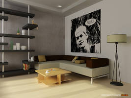 living room by arkitribe