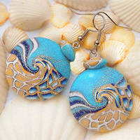 Wave Earrings by Mantuli