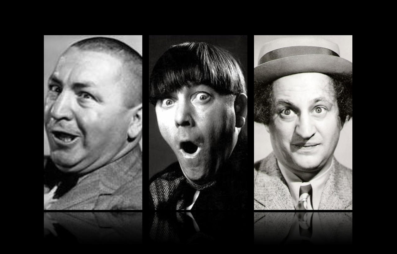 The Three Stooges Wallpaper By Thekrav Inator On Deviantart