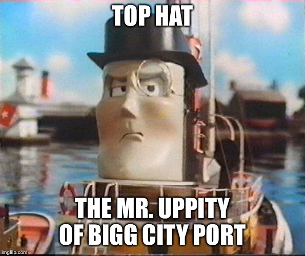 Top Hat - The Mr  Uppity of Bigg City Port by TheKrav-inator