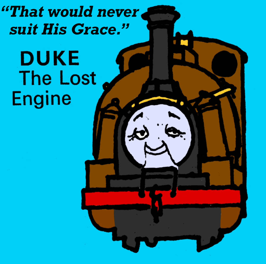 Duke the Lost Engine Poster