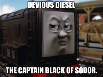 The Captain Black of Sodor by TheLostEngine