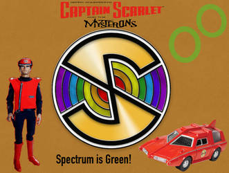 Captain Scarlet and the Mysterons Custom Poster by TheLostEngine