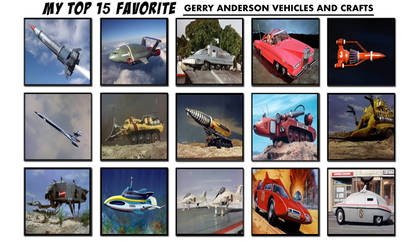 My 15 Favourite Gerry Anderson Vehicles and Crafts by TheLostEngine