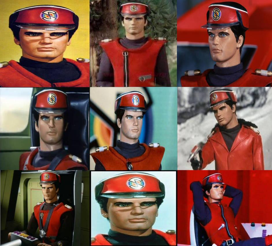 Captain Scarlet Collage
