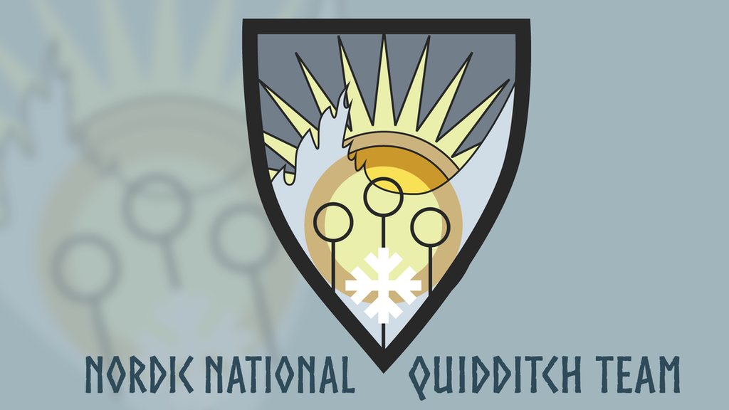 Nordic National Quidditch Team by Draber-Bien