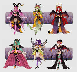 (SETPRICE OPEN) Fantasy Ladies Batch by Chopup