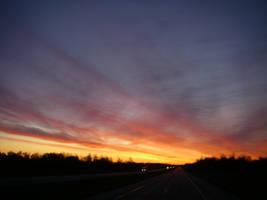 Indiana Turnpike Sunrise 1 by archambers