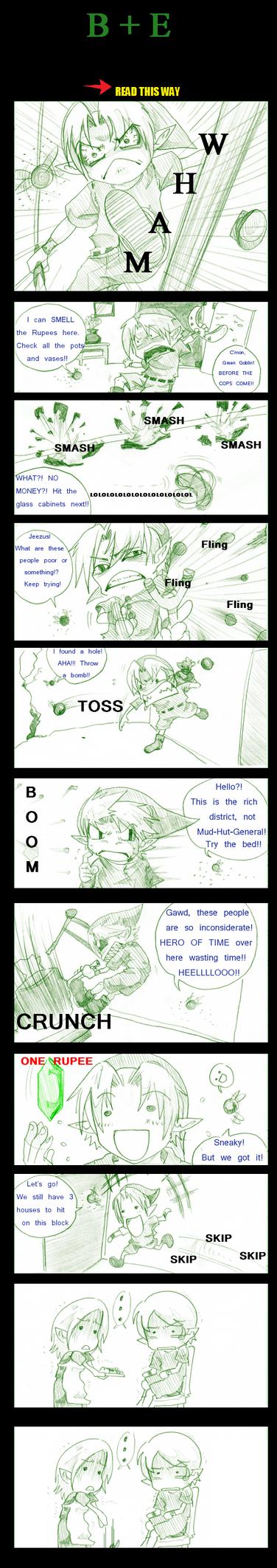 LoZ: B + E by AmukaUroy