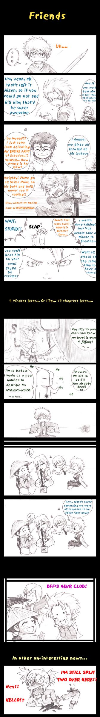 Bleach: Friends by AmukaUroy