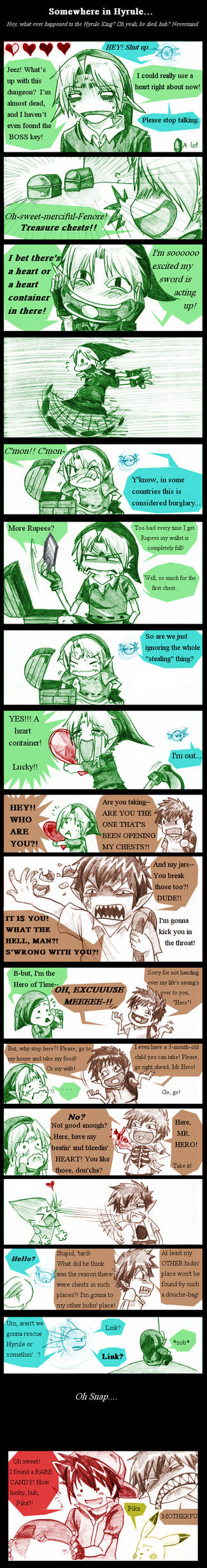 Zelda: Found A Heart