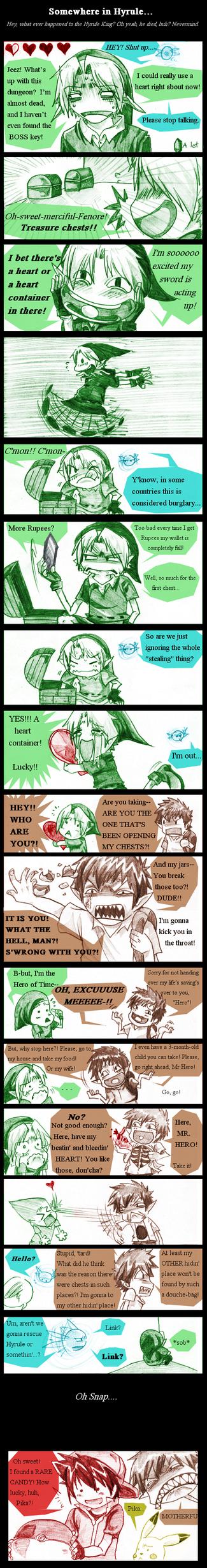 Zelda: Found A Heart by AmukaUroy