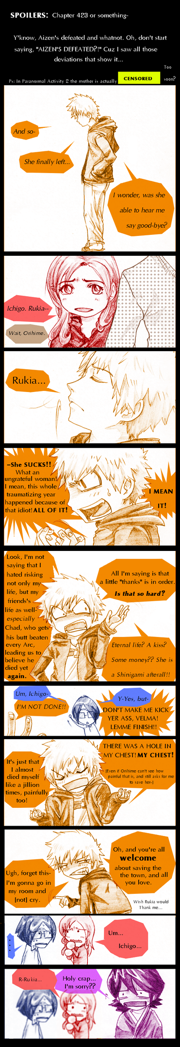 Bleach: Ungrateful by AmukaUroy