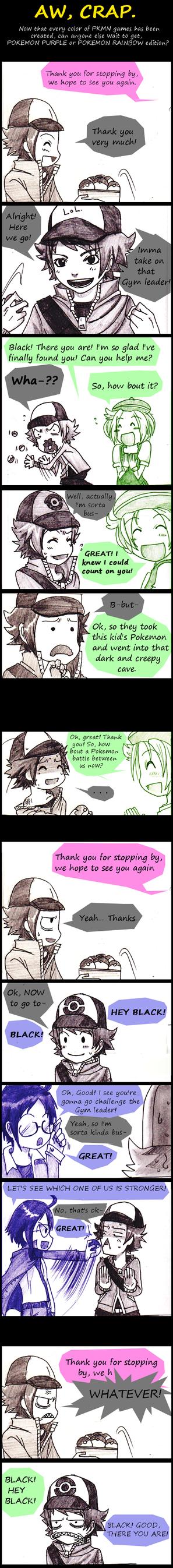 PKMN: Aw, Crap by AmukaUroy