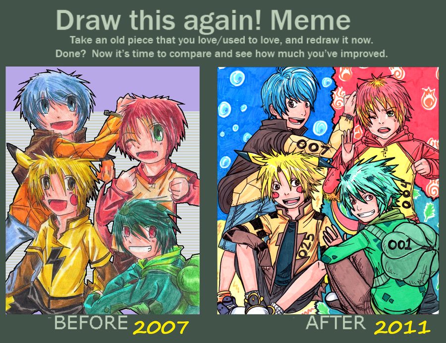 Draw Again Meme by AmukaUroy