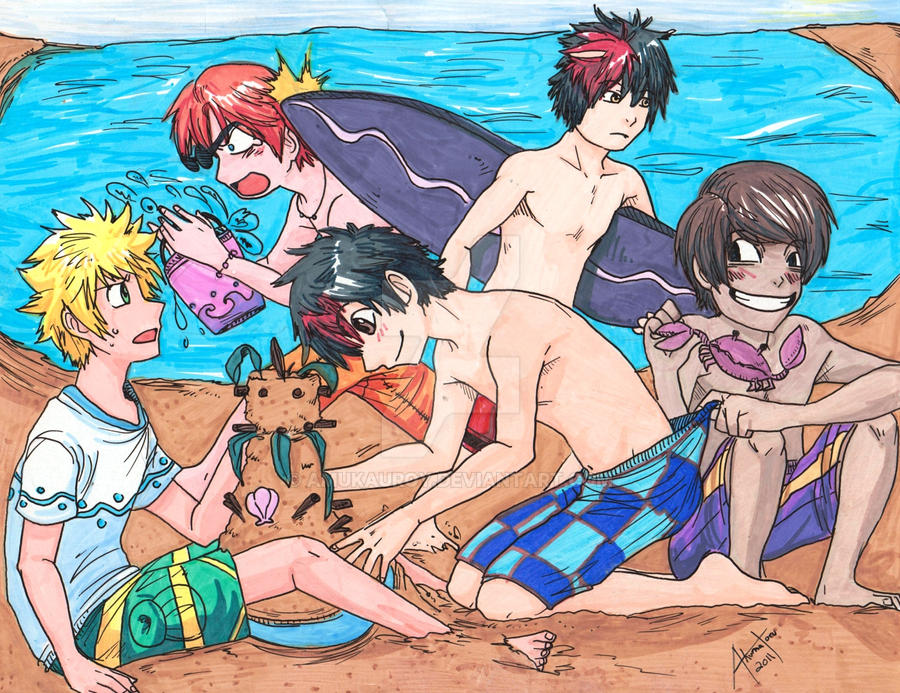 Beach Bums by AmukaUroy