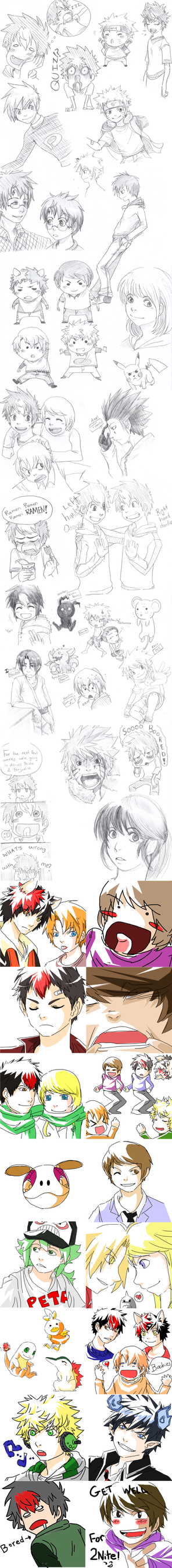Sketch Dump Returns by AmukaUroy
