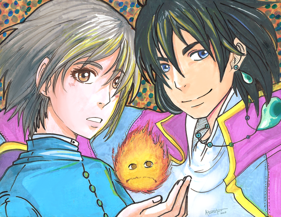 Howl's Moving Castle by AmukaUroy