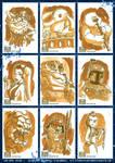 Star Wars Galaxy 7 sketchcards