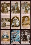 Indiana Jones Masterpieces Sketchcards