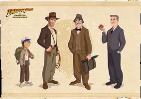 Indiana Jones Modelsheet by PatrickSchoenmaker