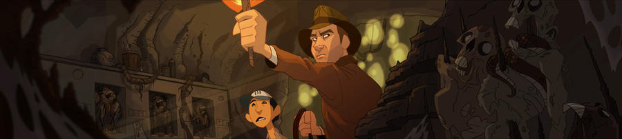Indiana Jones Banner 2 by PatrickSchoenmaker