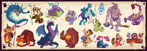 Dungan Character Designs 1