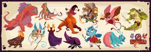 Dungan Character Designs 2 by PatrickSchoenmaker