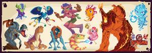 Dungan Character Designs 3