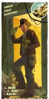 The Man in the Hat print by PatrickSchoenmaker