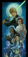 Rebel Alliance print by PatrickSchoenmaker
