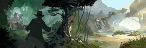Jungle Pan by PatrickSchoenmaker