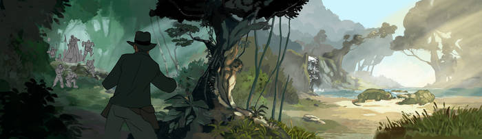 Jungle Pan by PatrickSchoenmaker