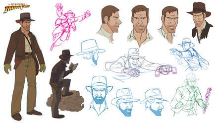 Indiana Jones Animated Concept - 07