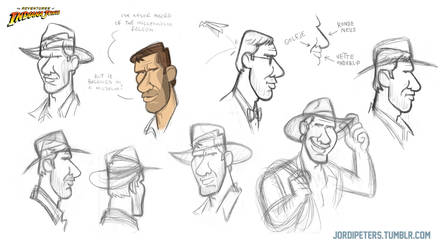 Indiana Jones Animated Concept - 08 by PatrickSchoenmaker