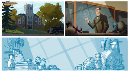 Indiana Jones Animated Concept - 09