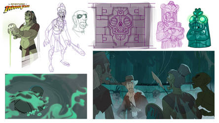 Indiana Jones Animated Concept - 10