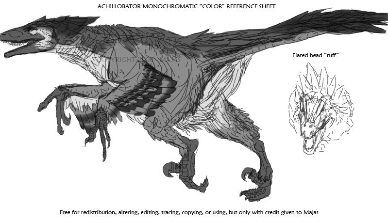 Achillobator Reference Sheet